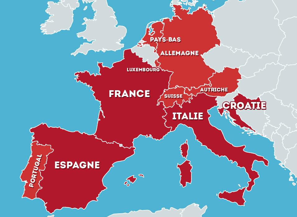 Location de mobil home en France, Italie, Espagne et Croatie